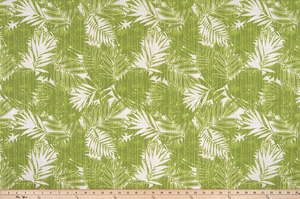 picture of palm tropical leaves printed on outdoor water repellent fabric