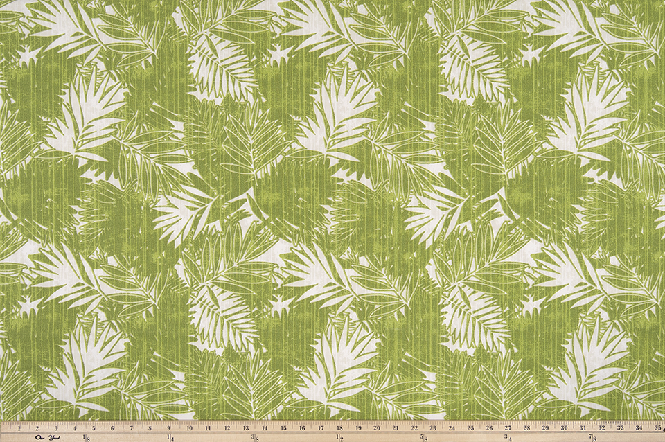 Outdoor Fabric - Daintree Greenery Polyester