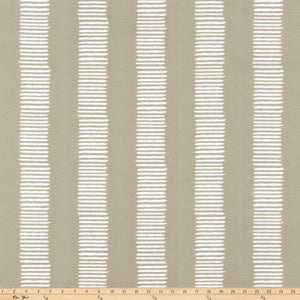 Outdoor Fabric - Dash Beech Wood By Premier Prints