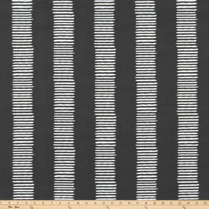 Outdoor Fabric - Dash Falcon Grey By Premier Prints