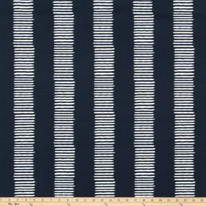 Outdoor Fabric - Dash Passport Navy By Premier Prints