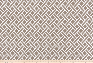 Outdoor Fabric - Eastwood Acorn Luxe Polyester Fabric By Premier Prints