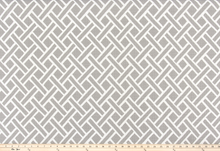 Outdoor Fabric - Eastwood Grey Luxe Polyester Fabric By Premier Prints