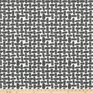 Outdoor Fabric - Farley Falcon Grey Fabric By Premier Prints