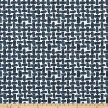 Outdoor Fabric - Farley Passport Navy Fabric By Premier Prints