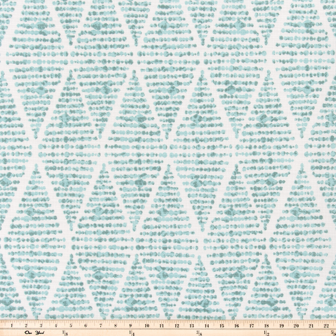 Outdoor Fabric - Foster Spa Luxe Polyester Fabric By Premier Prints