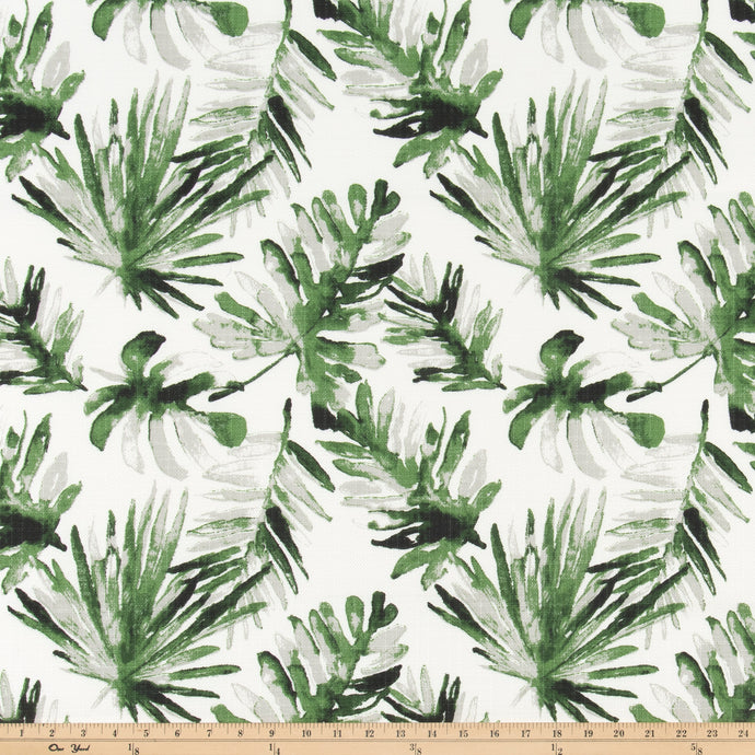 Outdoor Fabric - Frond Lubu Luxe Polyester Fabric By Premier Prints