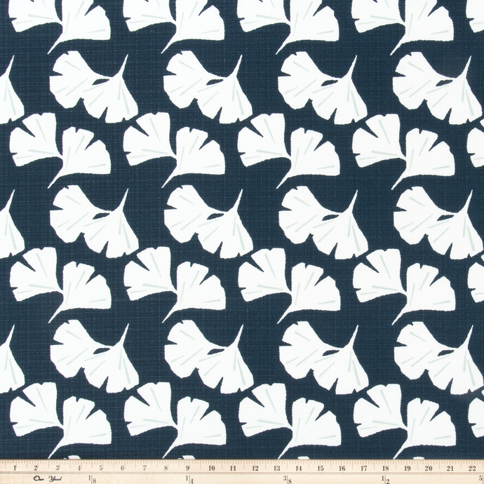 Outdoor Fabric - Ginkgo Oxford Luxe Polyester Fabric By Premier Prints