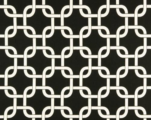 Outdoor Fabric - Gotcha Ebony