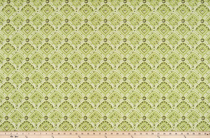 Outdoor Fabric - Kipling Greenery Polyester