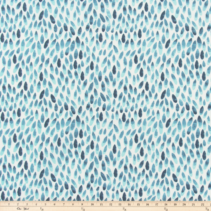 Outdoor Fabric - Lotus Italian Denim Fabric By Premier Prints