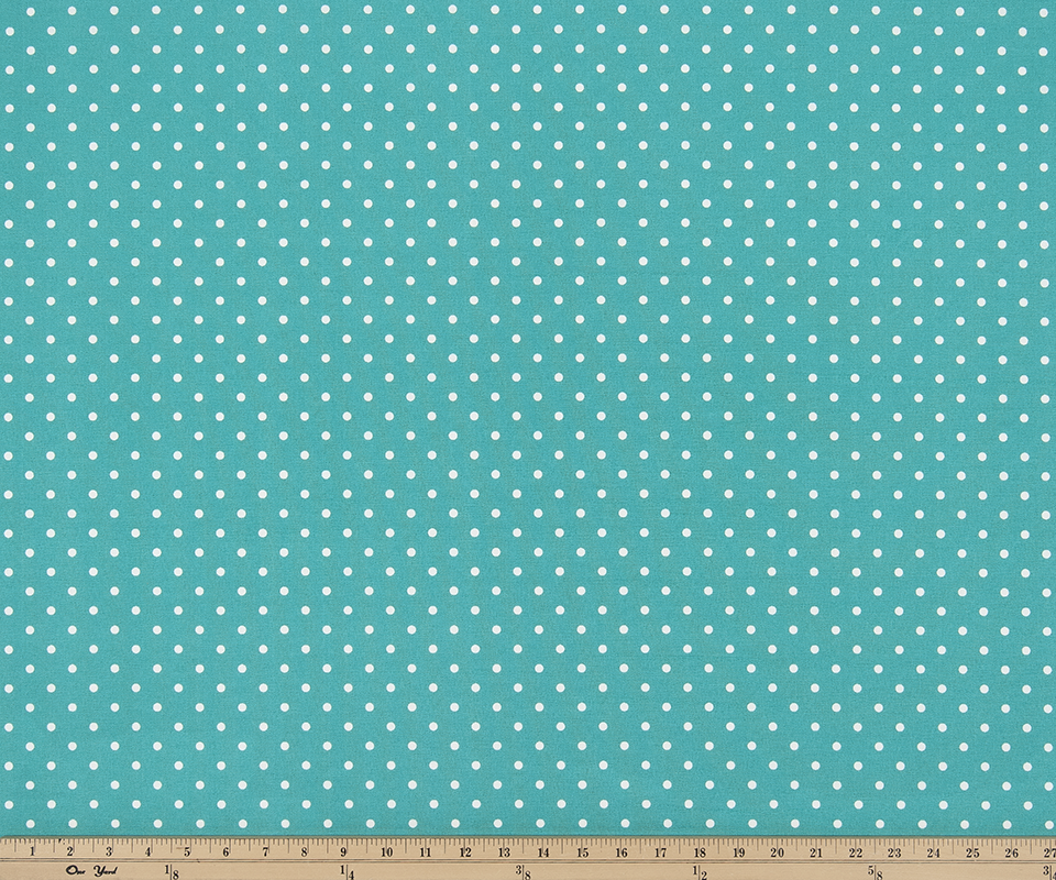 Outdoor Fabric - Mini Dot Ocean