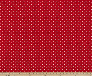 Outdoor Fabric - Mini Dot Rojo