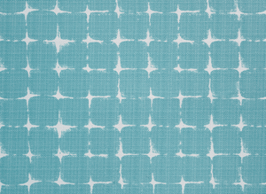 Outdoor Fabric - Neptune Aqua/Luxe Polyester Fabric By Premier Prints
