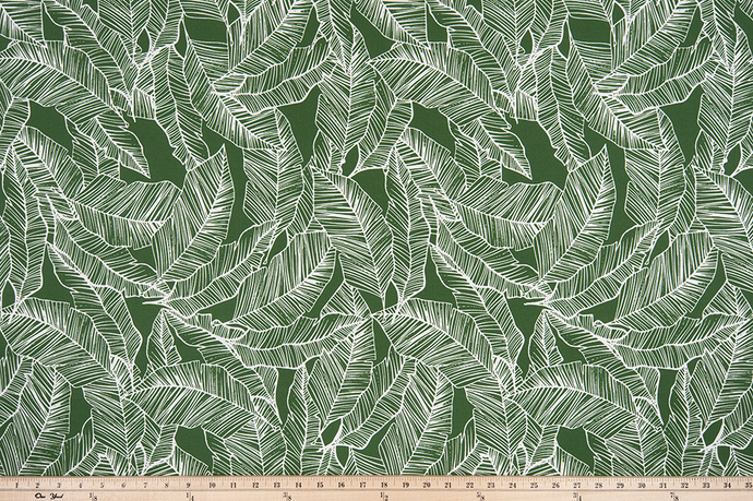 Outdoor Fabric - Pacific Herb Polyester Fabric By Premier Prints
