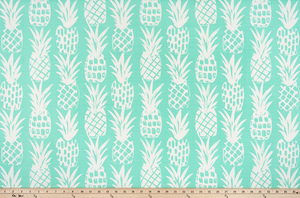 Outdoor Fabric - Pineapple Surfside Luxe Polyester Fabric By Premier Prints