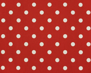 Outdoor Fabric - Polka Dot American Red
