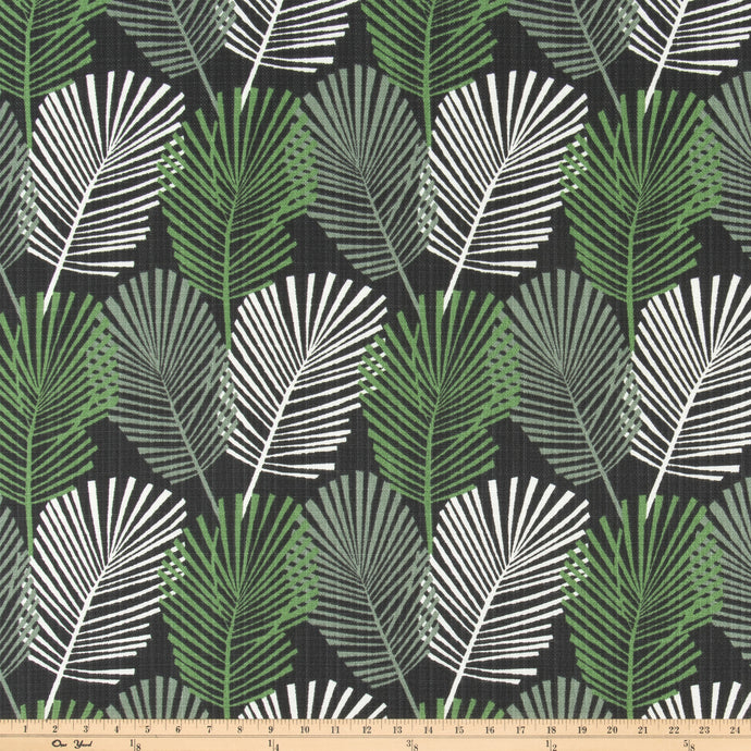 Outdoor Fabric - Rainforest Pine Luxe Polyester Fabric By Premier Prints