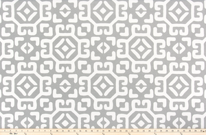 Outdoor Fabric - Raul Grey Fabric By Premier Prints
