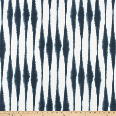 Outdoor Fabric - Salix Passport Navy By Premier Prints