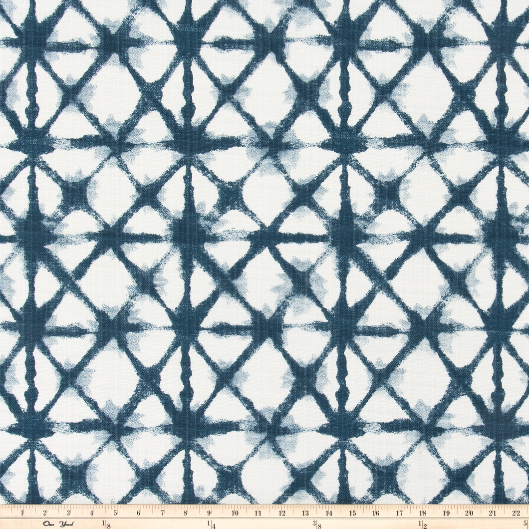 Outdoor Fabric - Shibori Net Oxford Fabric By Premier Prints