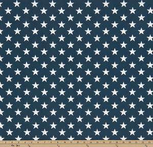 Outdoor Fabric - Stars Oxford