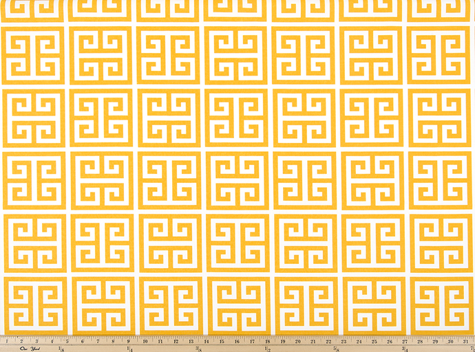Outdoor Fabric - Towers Citrus Yellow