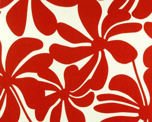 Outdoor Fabric - Twirly American Red