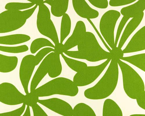 Outdoor Fabric - Twirly Greenage