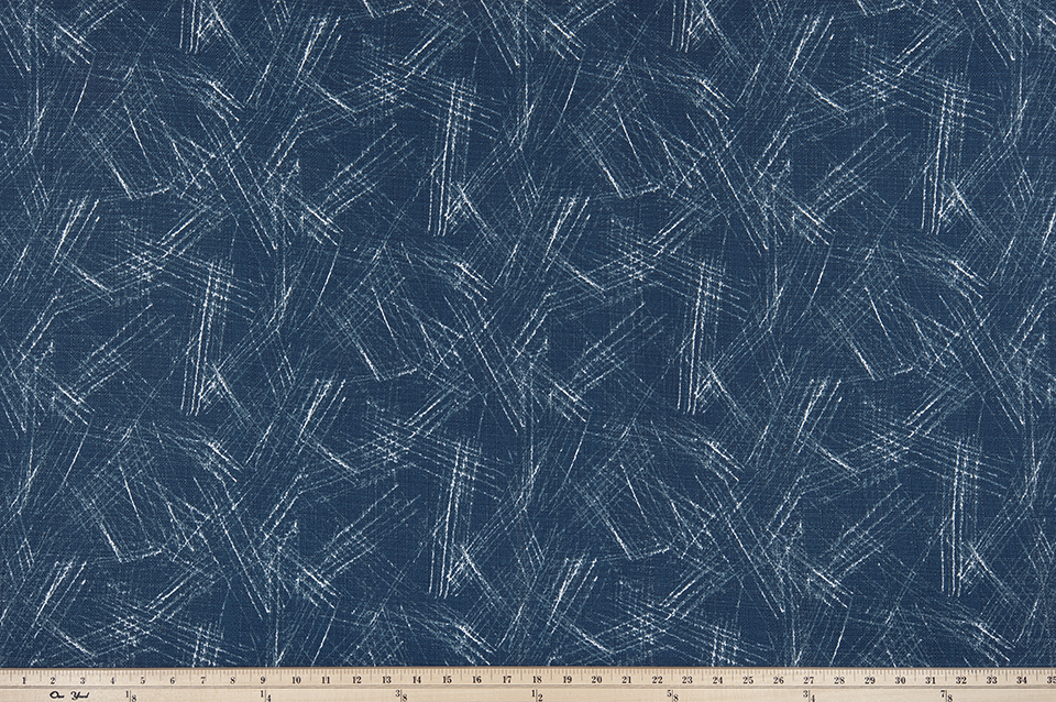 picture of Mediterranean tropical abstract pattern on outdoor fabric