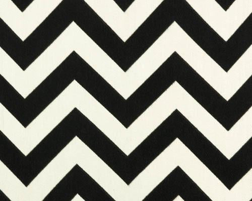 Outdoor Fabric - Zigzag Ebony