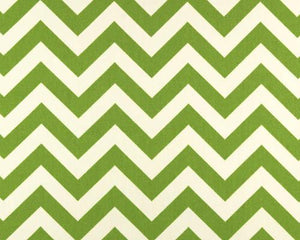 Outdoor Fabric - Zigzag Greenage
