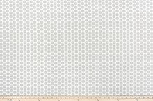 Paco French Grey Slub Canvas Fabric By Premier Prints