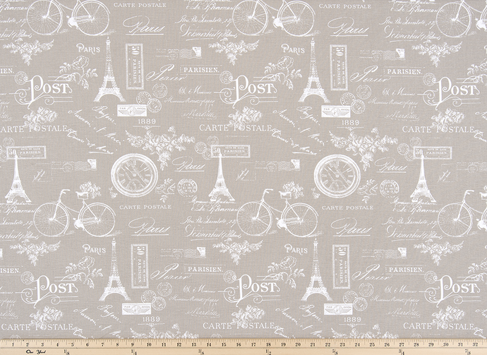 Paris Ecru Fabric By Premier Prints