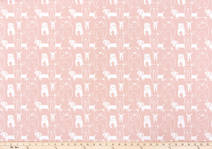 Pedigree Blush Fabric By Premier Prints