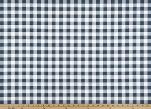 Plaid Premier Navy Fabric By Premier Prints