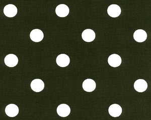 Polka Dot Black White Fabric By Premier Prints