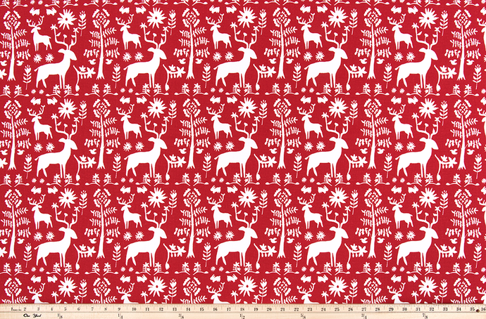 Promise Land Lipstick Fabric By Premier Prints