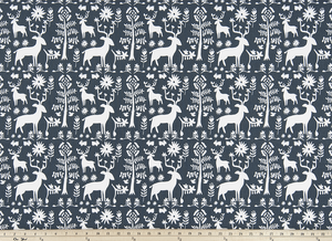Promise Land Spruce Blue Fabric By Premier Prints