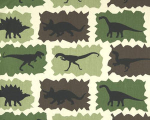 Rex Cammo Natural Fabric By Premier Prints