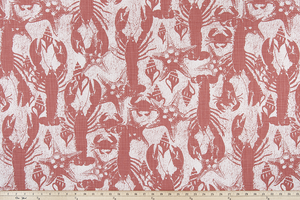 Sand Runner Scarlet Slub Canvas Fabric By Premier Prints
