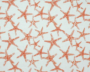 Picture of Sea Friends Salmon Slub Fabric
