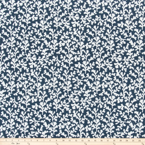 Sea Tumble Italian Denim Slub Canvas Fabric By Premier Prints