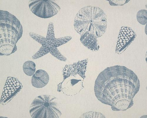 Shells Pacific Natural Fabric By Premier Prints