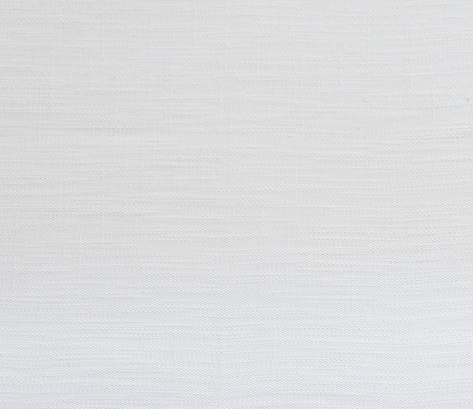 Unprinted Slub Linen White