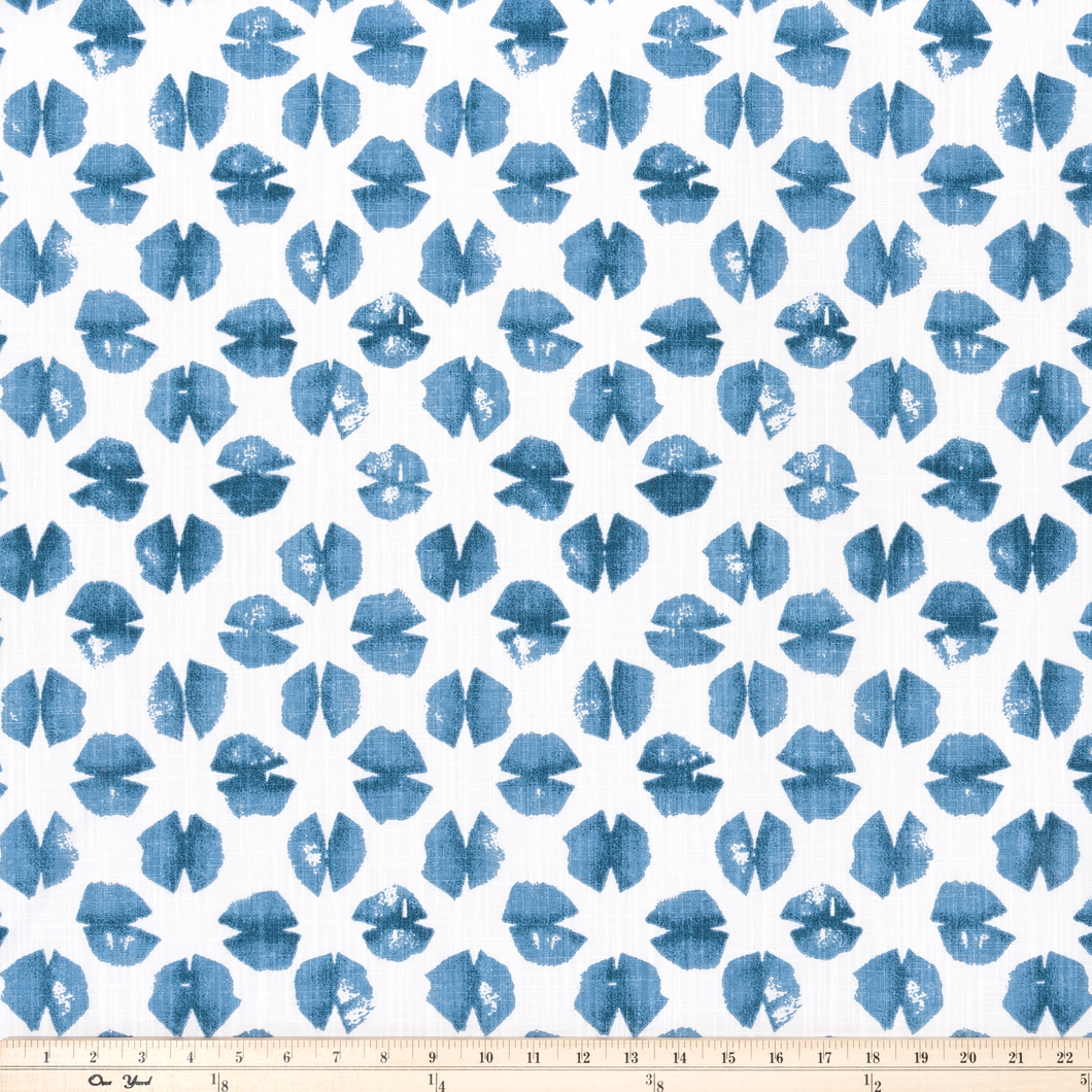 Sook Italian Denim Slub Canvas Fabric By Premier Prints