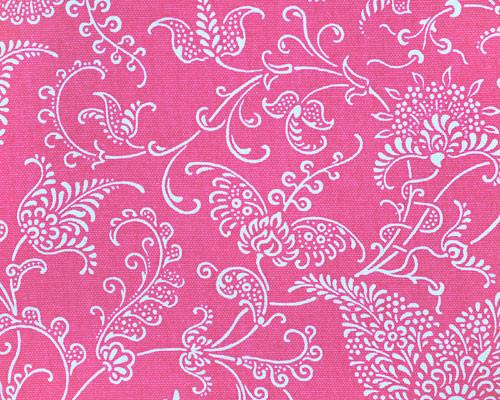Small Paisley Candy Pink Fabric By Premier Prints