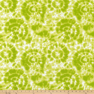 Spiral Chartreuse Fabric By Premier Prints