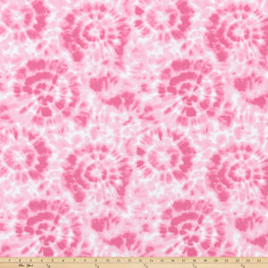 Spiral Prism Pink Fabric By Premier Prints