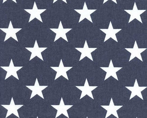 Picture of Stars on Blue fabric